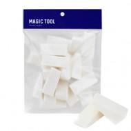 Спонжи для тональной основы Holika Holika Magic Tool Foundation Sponge (20P): фото