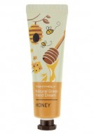 Крем для рук с медом TONY MOLY Natural green hand cream Honey 30 мл: фото