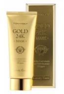 Маска для лица с золотом TONY MOLY Luxury jem gold 24k mask 100 мл: фото