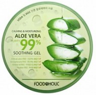 Гель FoodaHolic Calming and Moisturizing Aloe Vera Soothing Gel, 300мл, FoodaHolic: фото