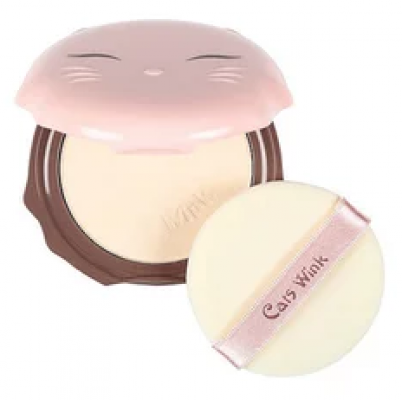 Пудра для лица TONY MOLY Cats wink clear pact 01 Clear Skin: фото