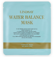 Гидрогелевая увлажняющая маска LINDSAY WaterВalance mask pack (100% gel): фото