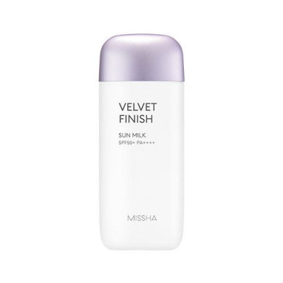 Солнцезащитное молочко '18 MISSHA All Around Safe Block Velvet Finish Sun Milk SPF50+/PA++++_70ml: фото