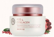 Крем с эффектом лифтинга THE FACE SHOP Pomegranate and collagen volume lifting cream 100 мл: фото