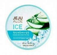 Гель для лица и тела с алоэ THE FACE SHOP Jeju aloe refreshing soothing gel 300 мл: фото