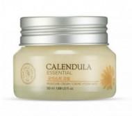 Крем увлажняющий с экстрактом календулы THE FACE SHOP Calendula essential moisture cream 50 мл: фото