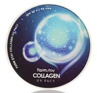 Компактная пудра с коллагеном FARMSTAY Collagen UV pact 12г*2: фото