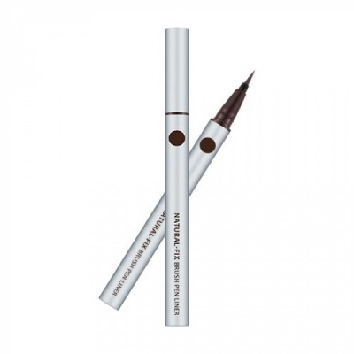 Подводка для глаз MISSHA Natural Fix Brush Pen Liner Brown: фото