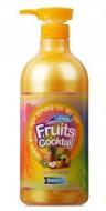 Восстанавливающий шампунь с витаминами INCUS Fruits coctail shampoo 980 мл: фото