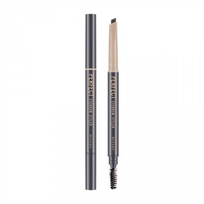 Автоматический карандаш для бровей MISSHA Perfect Eyebrow Styler Gray