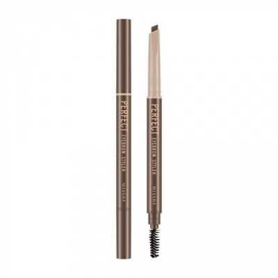 Автоматический карандаш для бровей Missha Perfect Eyebrow Styler Brown