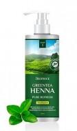Шампунь с хной и зеленым чаем DEOPROCE Shampoo greentea henna pure refresh 1000мл: фото