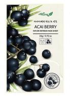 Освежающаяя маска для лица с ягодами асаи ALWAYS21 Nature refresh mask sheet Acai berry 20г: фото