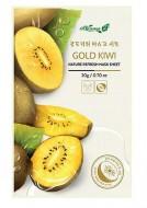Освежающаяя маска для лица с экстрактом золотого киви ALWAYS21 Nature refresh mask sheet Gold kiwi 20г: фото
