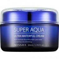 Интенсивный увлажняющий дневной крем для лица MISSHA Super Aqua Ultra Waterful Cream: фото
