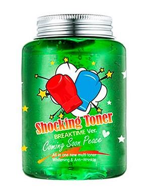 Увлажняющая и успокаивающая ампула «Брейктайм» LABEL YOUNG Shocking Toner Calming Beam Breaktime 250мл: фото