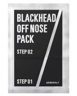 2-х шаговый набор против черных точек для мужчин GENERAL 7 Blackhead Off Nose Pack 1шт