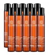 Ампулы для восстановления поврежденных волос FLOLAND Premium Keratin Change Ampoule 13 мл*10