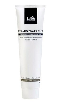 Средства по уходу за волосами LA'DOR Keratin power glue 150ml Сыворотка-бальзам для посеченных кончиков волос 150мл: фото