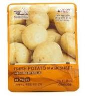 Тканевая маска с экстрактом картофеля 3W CLINIC Fresh mask sheet sheet potato 23мл: фото