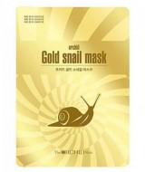 Тканевая маска премиум класса с муцином улитки THE ORCHID SKIN Golden Snail Mask 25г: фото