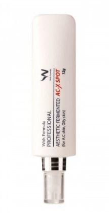 Ферментированный точечный крем от угревой сыпи WISH FORMULA Fermented AC-X Spot 12г: фото