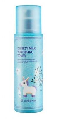 Тонер для лица увлажняющий с молочными протеинами seaNtree DONKEY MILK WATERISING TONER 175мл: фото