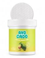 Спонжи для снятия макияжа с глаз и губ SCINIC Avocado Lip And Eye Remover Pads 70шт: фото