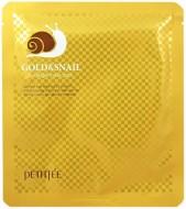 Гидрогелевая маска для лица с золотом и улиточным муцином PETITFEE Gold & Snail Mask Pack: фото