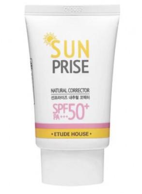 Крем солнцезащитный ETUDE HOUSE Sun Prise Natural Corrector SPF50: фото