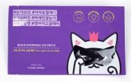 Черная гидрогелевая маска-патч для области вокруг глаз ETUDE HOUSE Mystery Cat Black Hydrogel Eye Patch: фото
