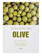 Тканева маска с экстрактом оливы A'PIEU My Skin-Fit Sheet Mask Olive: фото