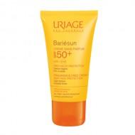 Солнцезащитный крем без ароматизаторов URIAGE Bariesun SPF50+ 50мл: фото