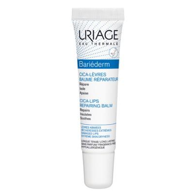 Защищающий цика-бальзам для губ URIAGE Bariederm 15мл