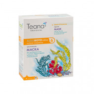 Альгинатная анти-акне маска с маслом Чайного дерева, экстрактом Ивы и Миоксинолом TEANA 30г*5: фото