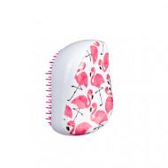 Расческа для волос TANGLE TEEZER Compact Styler Фламинго (белая): фото