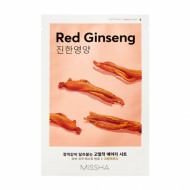 Маска для лица MISSHA AIRY FIT SHEET MASK [RED GINSENG]: фото