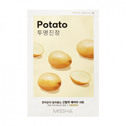 Маска для лица MISSHA AIRY FIT SHEET MASK [POTATO]: фото