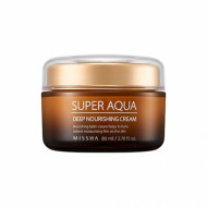 Интенсивный питательный крем MISSHA Super Aqua Ultra Waterful Deep Nourishing Cream 80 мл: фото
