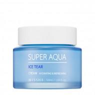 Освежающий крем для лица MISSHA Super Aqua Ice Tear Cream 50 мл: фото