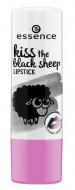 Помада для губ ЕSSENCE Kiss The Black Sheep Lipstick 05 черный: фото