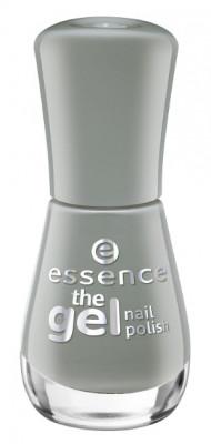 Лак для ногтей с эффектом геля ЕSSENCE Тhe gel nail polish 119 серый Essence