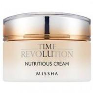 Питательный крем для лица MISSHA Time Revolution Nutritious Cream 50 мл: фото