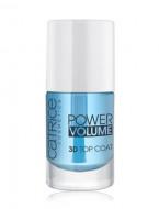 Верхнее покрытие для ногтей CATRICE Power Volume 3D Top Coat прозрачный: фото