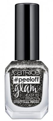 Лак для ногтей CATRICE PEELOFF GLAM EASY TO REMOVE EFFECT NAIL POLISH 04 Girls Bite Black