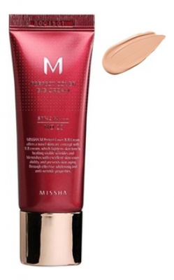 Тональный крем MISSHA M Perfect Cover BB Cream SPF42/PA+++ No.21/Light Beige 20ml