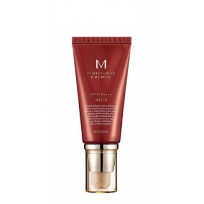 Тональный крем MISSHA M Perfect Cover BB Cream SPF42/PA+++ No.13/Bright Beige 50ml