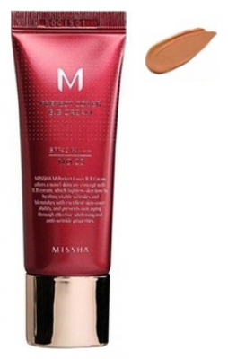 Тональный крем MISSHA M Perfect Cover BB Cream SPF42/PA+++ No.29/ Caramel Beige 50ml: фото