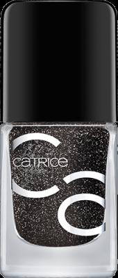 Лак для ногтей CATRICEICONailsGelLacquer53 черный с блеском