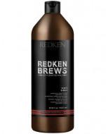 Шампунь 3-в-1 Redken Brews 1000МЛ: фото